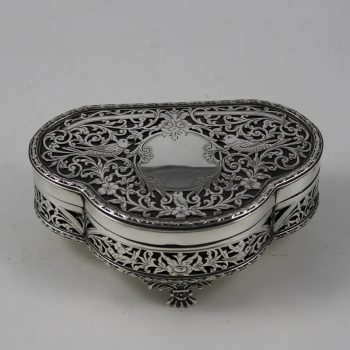 Jewellery Boxes Antique Silver London UK D D Antiques